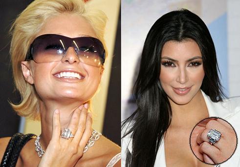 Пэрис vs Ким: размер имеет значение