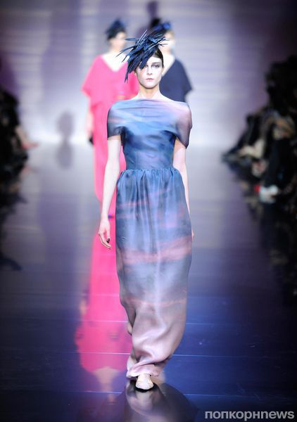 Модный показ Armani Prive. Осень / зима 2012-2013