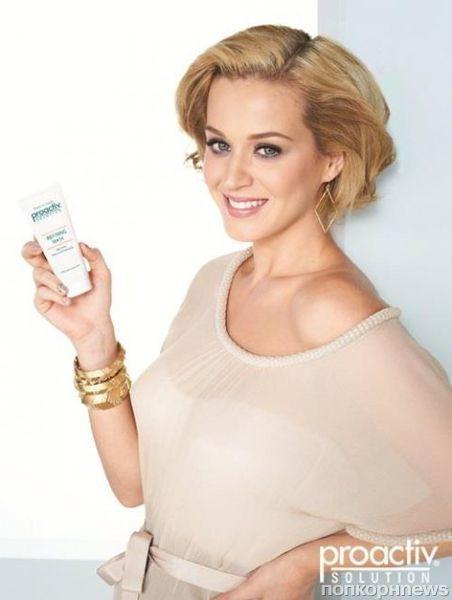 Кэти Перри в новой рекламной кампании Proactiv