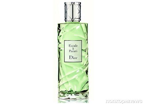 Dior  представляет новый аромат Escale a Parati