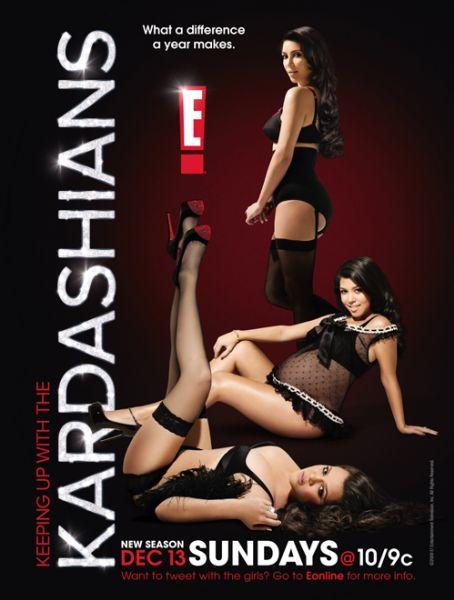 Промо-постер нового сезона шоу сестер Кардашиан