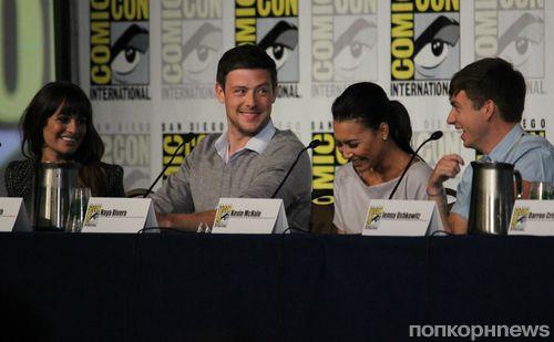 Звезды сериала «Хор» на фестивале Comic-Con