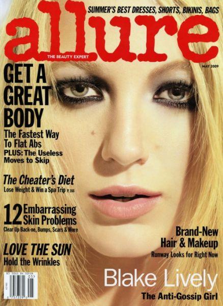 Блэйк Лайвли в журнале Allure. Май 2009