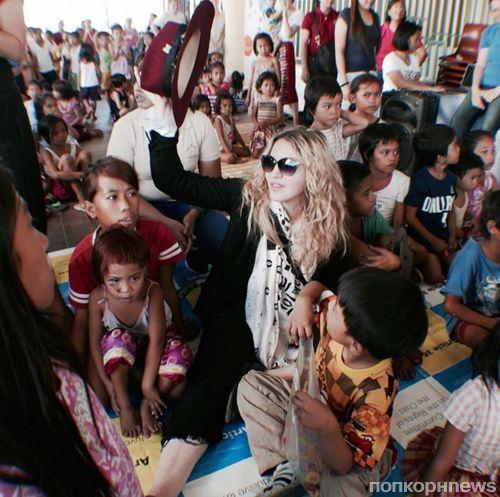 Мадонна задумалась о новом усыновлении