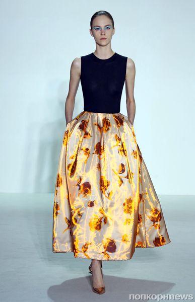 Модный показ Christian Dior. Весна / лето 2013