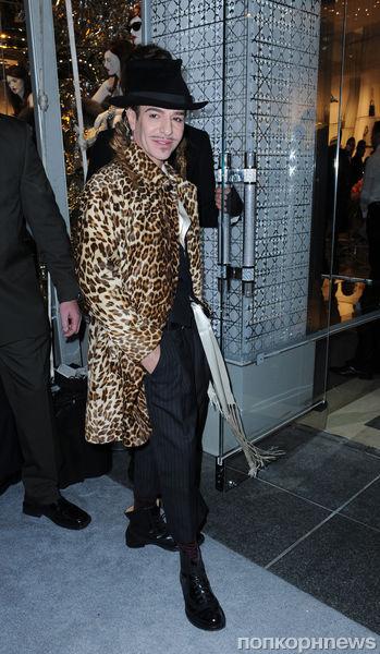 Джон Гальяно возвращается в мир моды