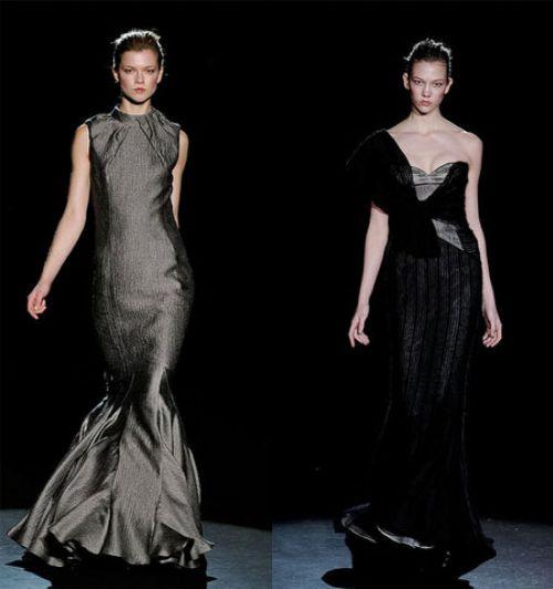 Нью-йоркская неделя моды: Carolina Herrera осень 2009