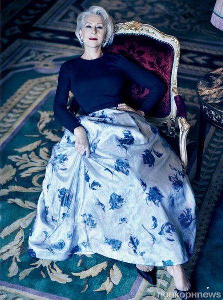Хелен Миррен в журнале Vogue Великобритания. Март 2013