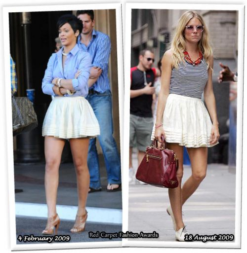Fashion battle: Рианна и Сиенна Миллер
