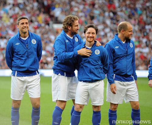 Звезды сыграли в футбол ради благотворительности