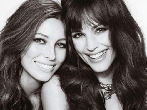 Дженнифер Гарнер и Джессика Бил в журнале Marie Claire US. Март 2010