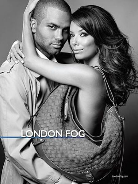 Ева Лонгория и Тони Паркер для London Fog