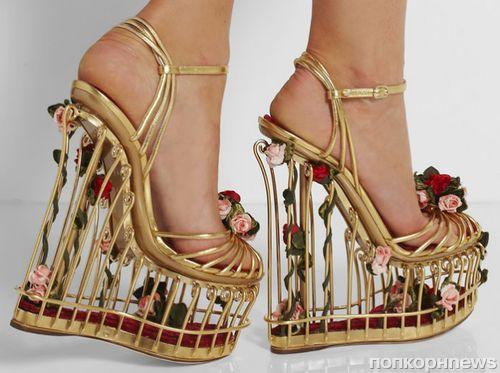 Интересные штучки: босоножки на платформе от Dolce & Gabbana