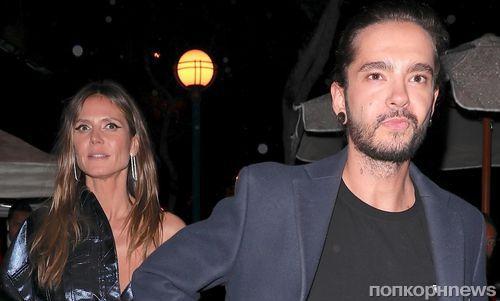 Хайди Клум приписали роман с гитаристом Tokio Hotel Томом Каулитцем