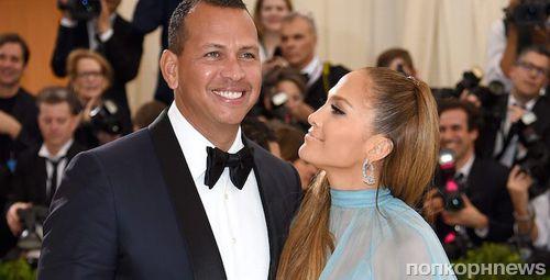 Слухи: Дженнифер Лопес и Алекс Родригес поженятся весной 2018