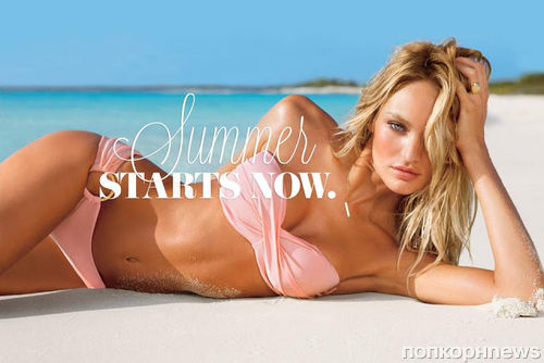 Кэндис Свейнпол, Алессандра Амбросио и другие в лукбуке купальников Victoria's Secret Summer of Sexy