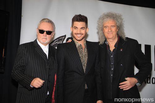 Адам Ламбер отправляется в тур с Queen