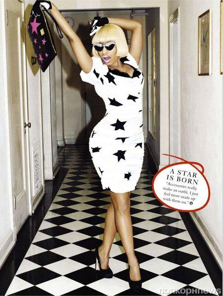 Ники Минаж в журнале Glamour UK. Январь 2012