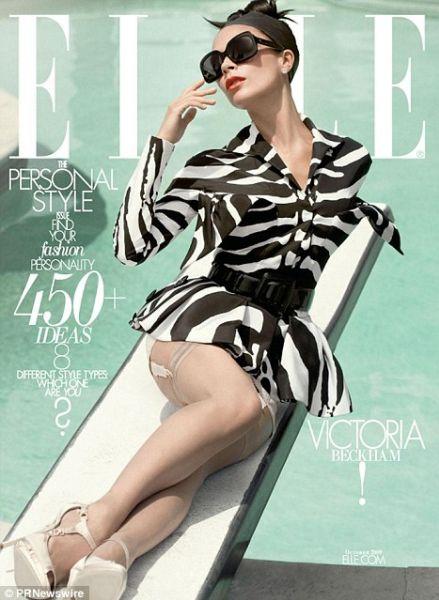 Виктория Бэкхем для журнала Elle