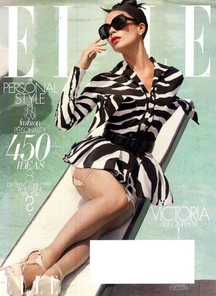 Виктория Бэкхем в журнале Elle. Сентябрь 2009