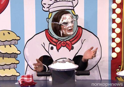 Видео: Дженнифер Гарнер стала мишенью для тортов