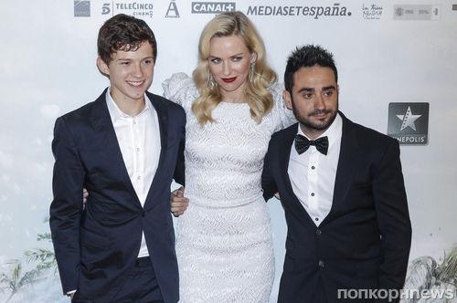 """Наоми Уоттс на премьере фильма """"Невозможное"""" в Мадриде"""