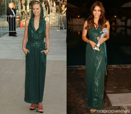 Fashion battle: Каролина Куркова и Ванесса Хадженс