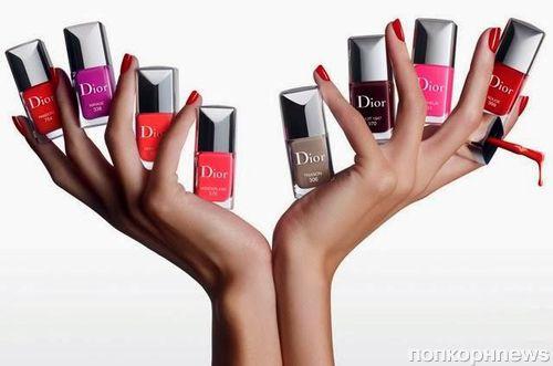 Коллекция лаков для ногтей Dior Vernis Couture Effet Gel. Весна 2014
