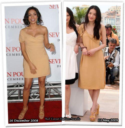 Fashion battle: Розарио Доусон и Шу Ки