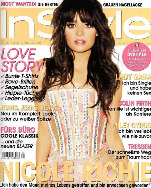 Николь Ричи в журнале InStyle. Германия. Май 2010