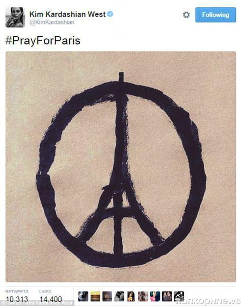 Голливудские звезды выразили соболезнования жертвам терактов в Париже