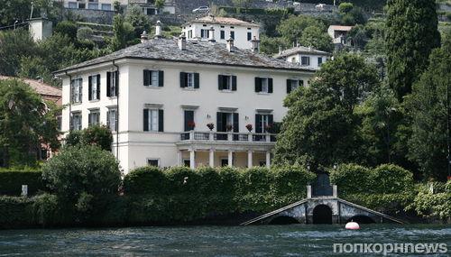 Джордж Клуни продаст виллу в Италии за 100 млн долларов