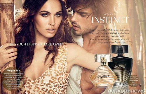 "Меган Фокс в рекламе аромата Avon ""Instinct"""