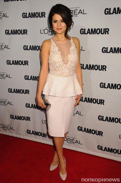 Звезды на премии «Женщина года» журнала Glamour в Нью-Йорке