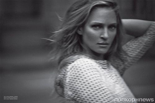 Ума Турман в журнале Vogue Италия. Февраль 2012