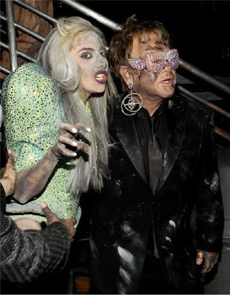 Элтон Джон и Lady GaGa споют дуэтом
