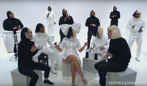 Sia, Натали Портман и Джимми Фэллон исполнили ретро-хит Iko Iko на школьных инструментах