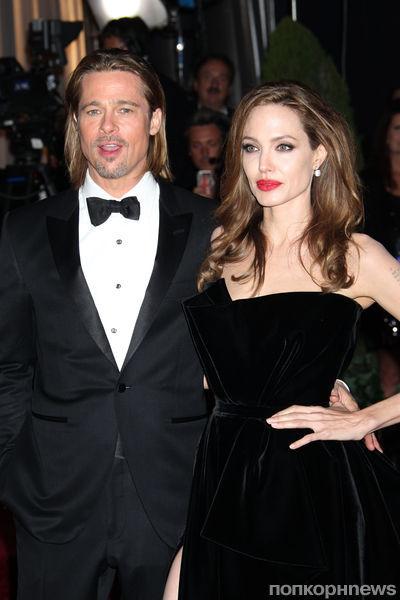 Брэд Питт о мастоэктомии Анджелины Джоли: она приняла героическое решение