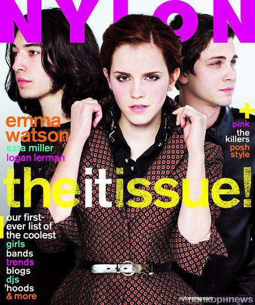 Эмма Уотсон в журнале  Nylon. Октябрь 2012