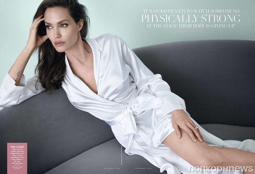 Анджелина Джоли в журнале Vanity Fair. Декабрь 2014