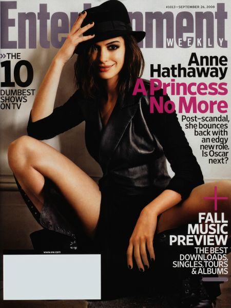 Энн Хэттуэй в сентябрьском Entertainment Weekly