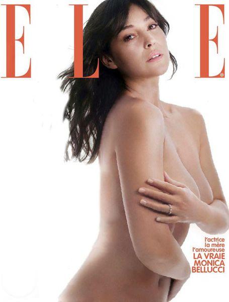 Моника Беллуччи в журнале Elle Франция. Июль 2011