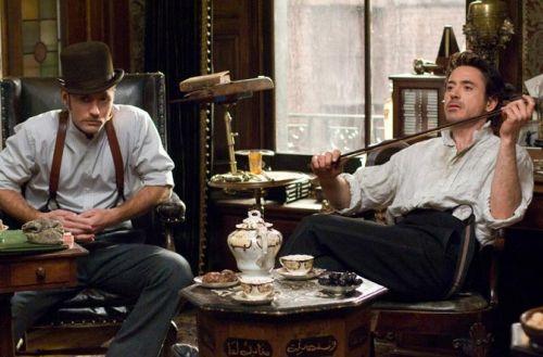 Первый трейлер фильма «Шерлок Холмс»