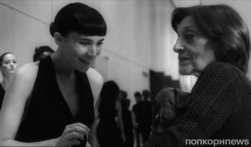 Руни Мара в рекламном ролике аромата Calvin Klein Downtown