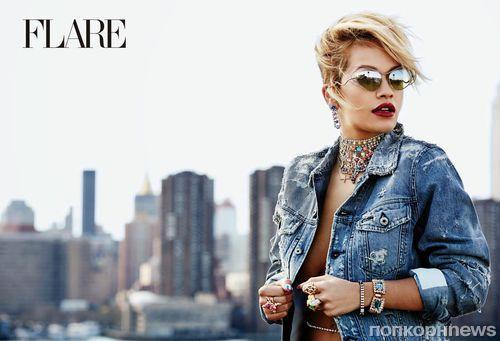 Рита Ора в журнале Flare. Август 2014