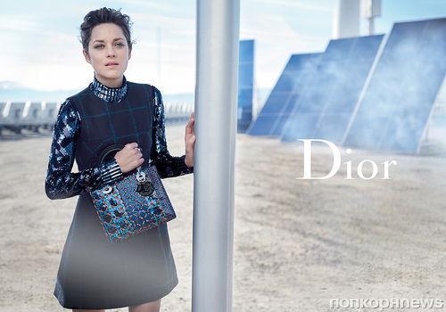 Марион Котийяр снялась в новой рекламной кампании Lady Dior: первые кадры
