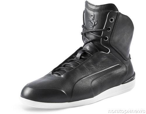 Лимитированная коллекция кроссовок Puma в сотрудничестве с Ferrari