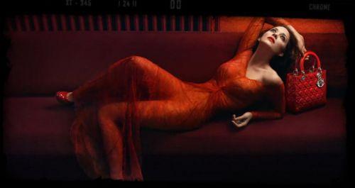 Марион Котияр в рекламе Dior Lady Rouge