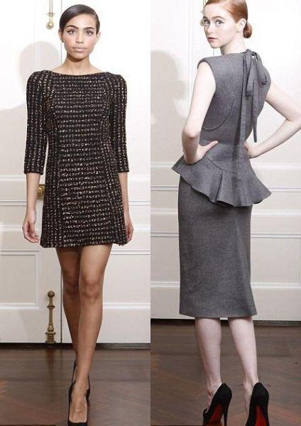 Новая коллекция платьев от Виктории Бэкхем