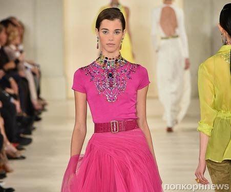 Модный показ новой коллекции Ralph Lauren. Весна / лето 2015